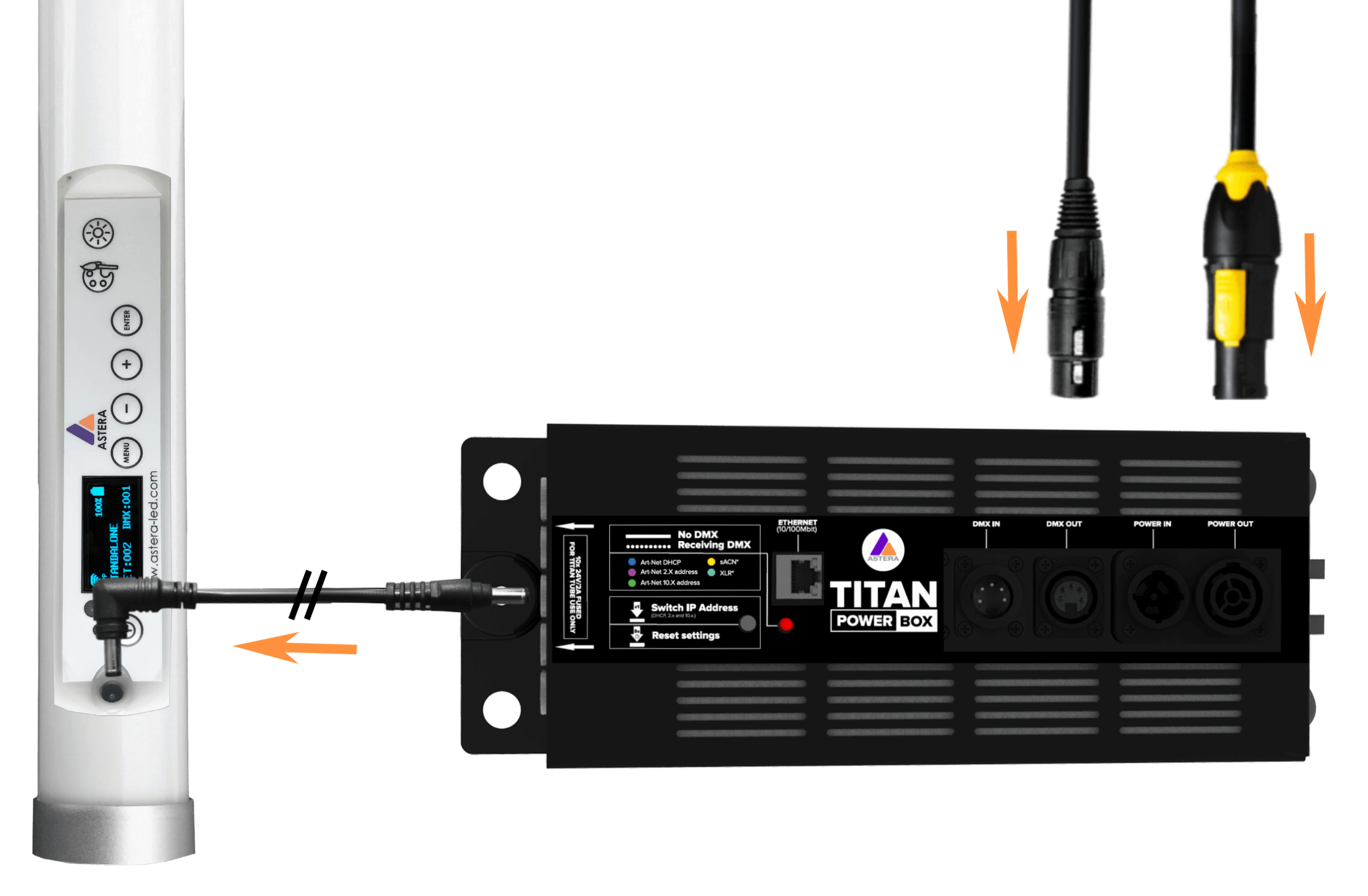 Titan Tube: The Ultimate Film Lighting Tube for TV, Cinema and Photography.